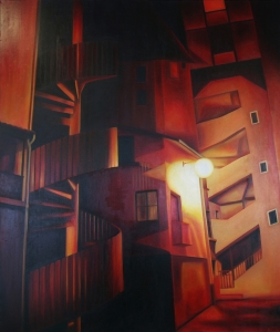 peinture-huile-paysage-urbain-grenoble-saint-laurent-alissa