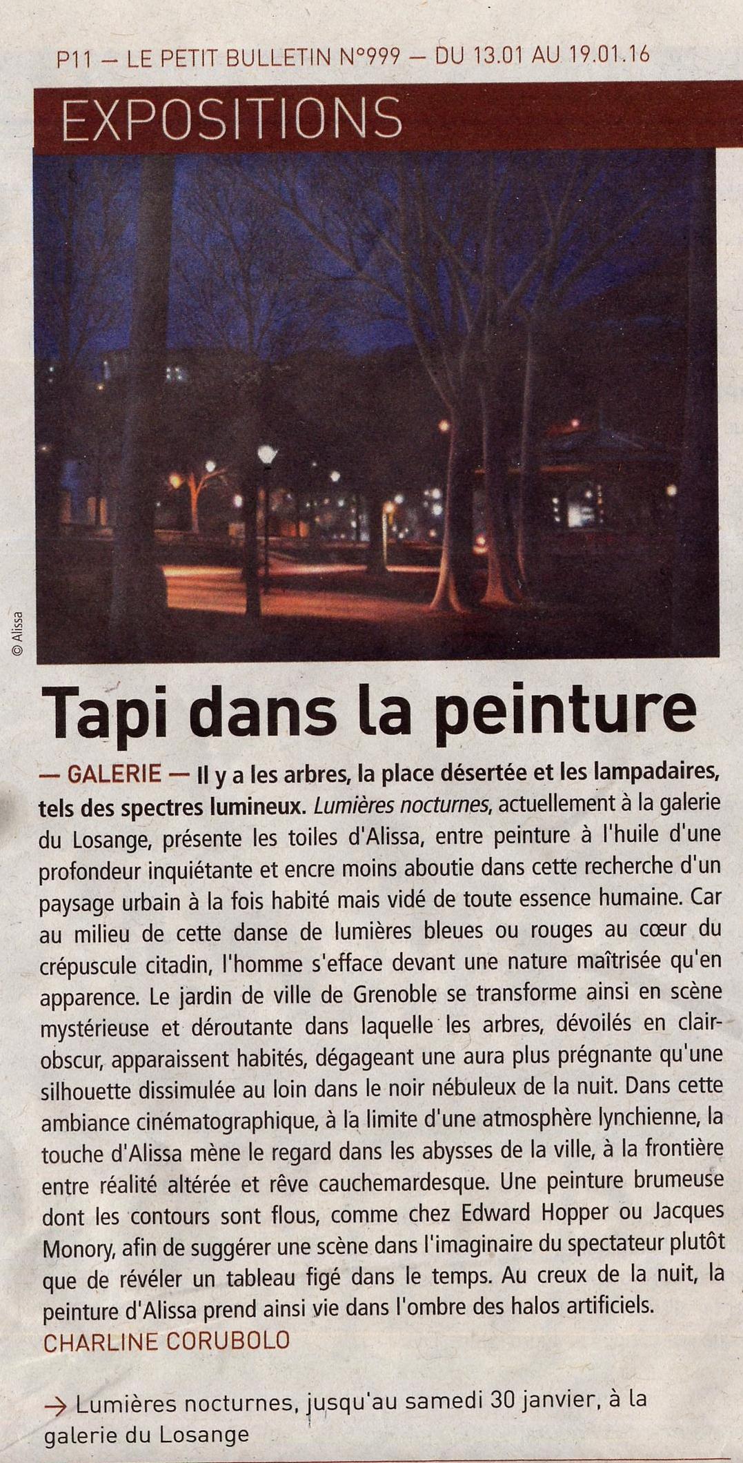 article Petit Bulletin seul