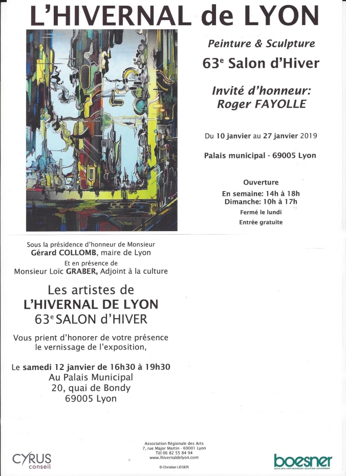 invitation vernissage 2018