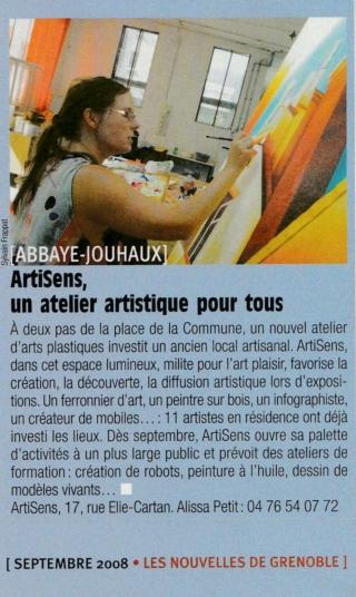 Alissa Nouvelles de Grenoble spt 2008 recadré