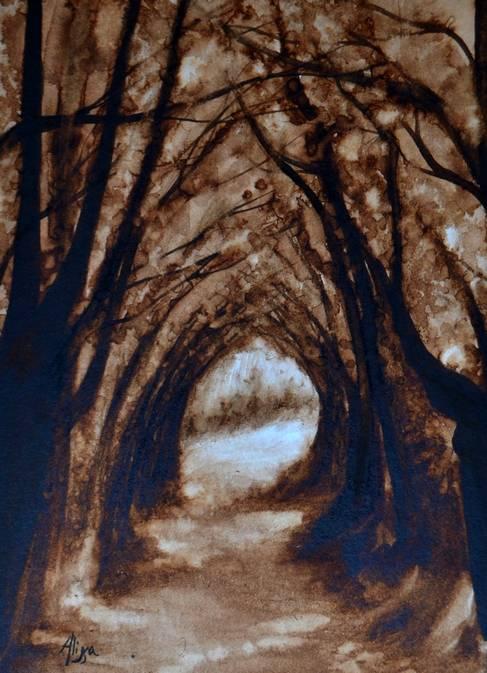 Tunnel boisé web